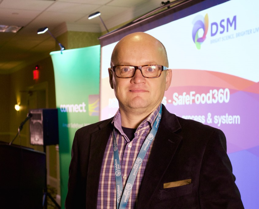 Johan Noordover of DSM Food Specialties talked about implementing Safefood 360°
