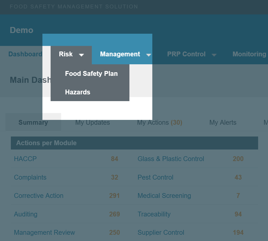 HACCP module will be renamed to Food Safety Plan ...