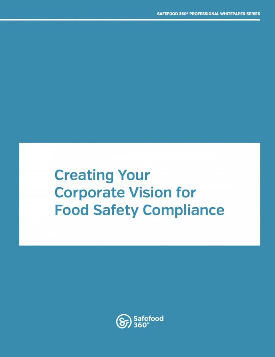 Safefood 360 corporate vision ebook